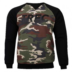 TREC WEAR Men's - CAMO - SWEATSHIRT 015/BLACK