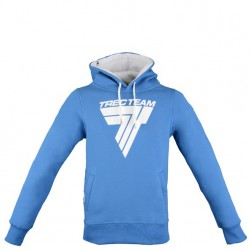 "TREC WEAR Men's - WHITE LOGO ""T"" - HOODIE 027/BLUE"