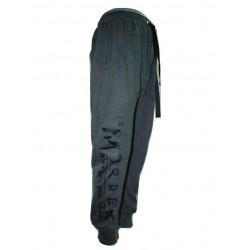 Mordex spodnie sportowe- dresowe ze ściągaczem ( szare)