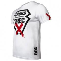 TREC WEAR MEN'S - COOLTREC 011 CROSS - T-SHIRT/WHITE