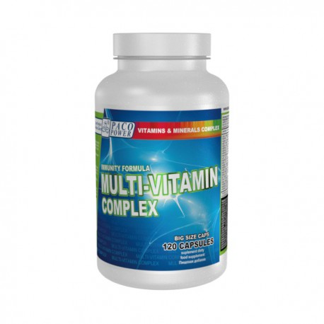 PACO POWER Multi-Vitamin Complex 120 kapsułek